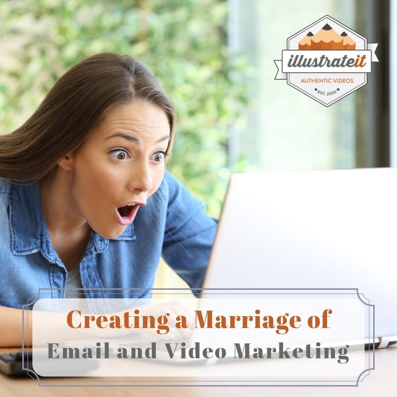 creating a marriage of email and video marketing