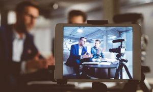 Benefits of Video Marketing video recording behind the scene